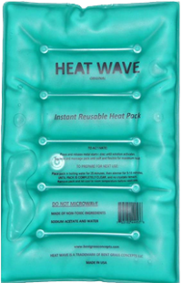 Heat Wave Large Rectangle Instant Reusable Heat Pad