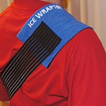 Ice Wraptor Ice Wraps can ice down your shoulder