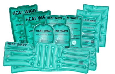 Heat Wave Instant Reusable Heat Pack Distributor Kit