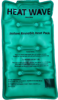 Heat Wave Med Rectangle Instant Reusable Heat Pad