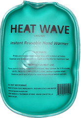 Heat Wave Instant Reusable Hand Warmers Instant Reusable