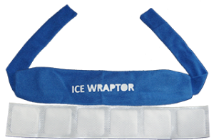 Ice Wraptor ThermaFreeze Ice Bandanna with ThermaFreeze Ice Sheet Insert