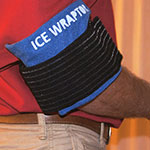 Ice Wraptor Ice Wraps can be wrapped for a tennis elbow