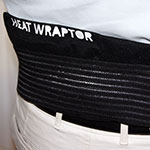 Heat Wraptor Heat Wraps can sooth lower back pain
